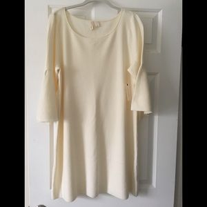 Anthropologie bell sleeve sweater dress-Never Worn